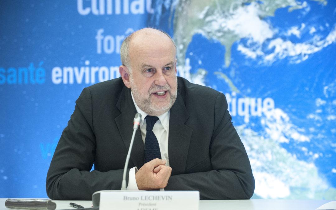 Bruno Léchevin, nommé délégué général du Pacte Finance-Climat