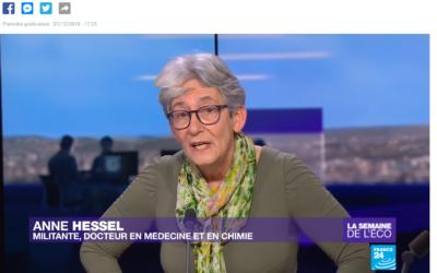 France 24 : Anne Hessel : Gilets jaunes : le pouvoir d'achat, au coeur de la contestation