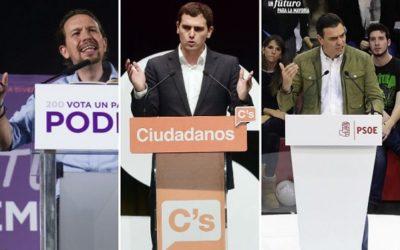 En Espagne, 3 listes aux élections européennes répondent à notre interpellation.