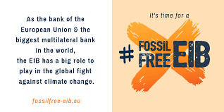 Counter Balance – Campagne pour l'arrêt des financements de la Banque Européenne d'Investissements aux énergies fossiles