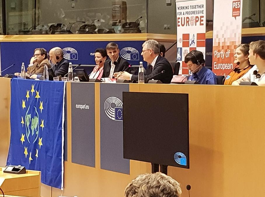 Séminaire au parlement européen à Bruxelles le 15 octobre dernier