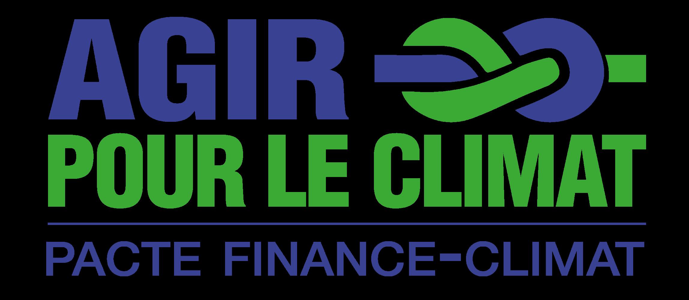 Agir pour le Climat - Pacte Finance-Climat