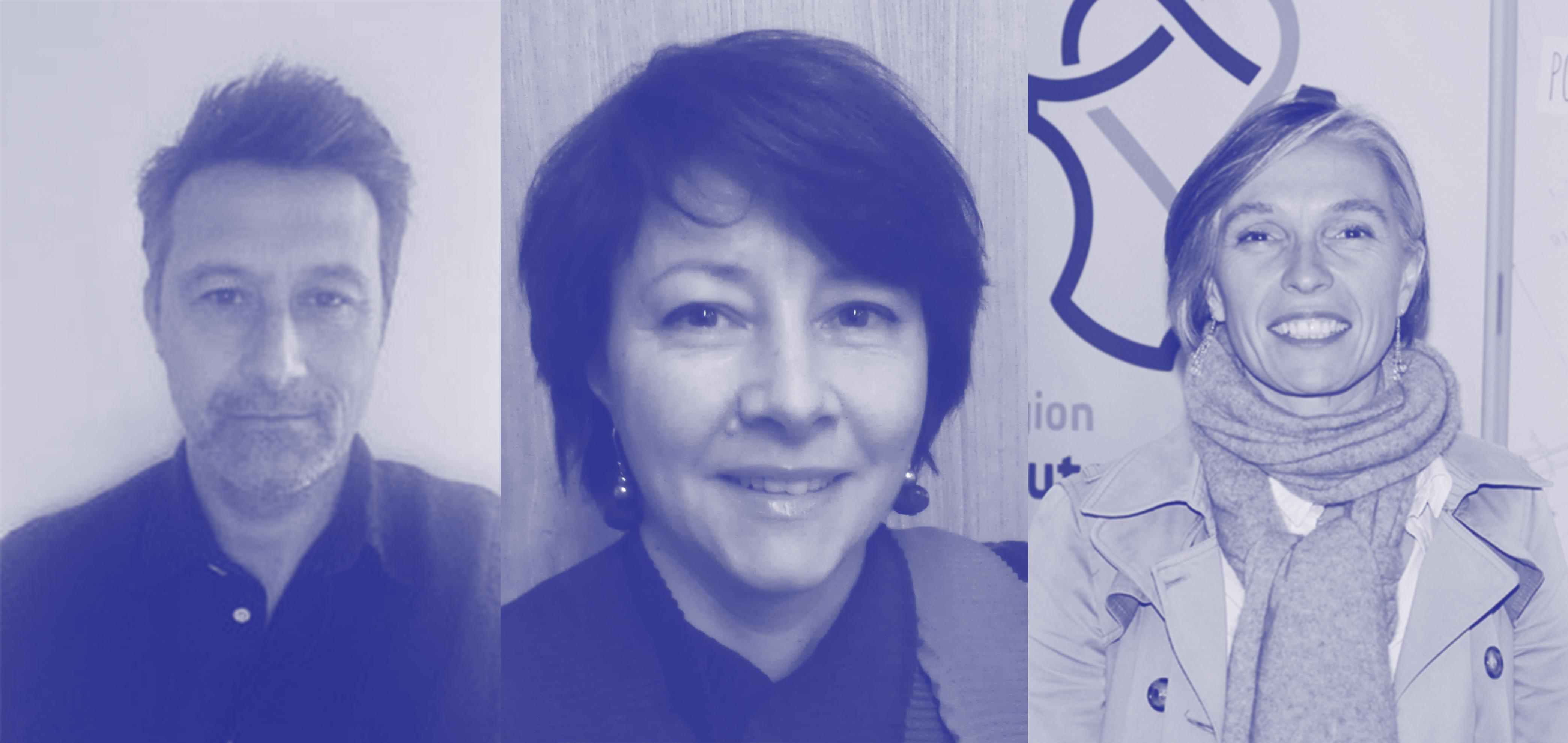 Philippe Ramos, Françoise Réfabert et Alice Morcrette