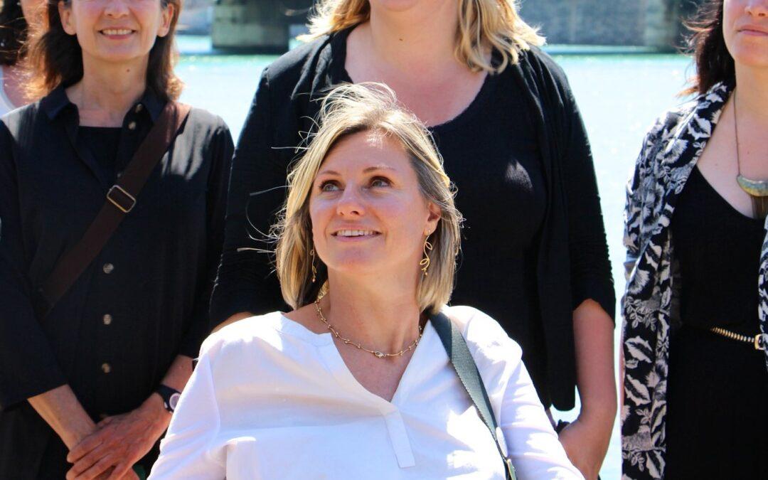 Audrey Hénocque, 1ère adjointe à la ville de Lyon